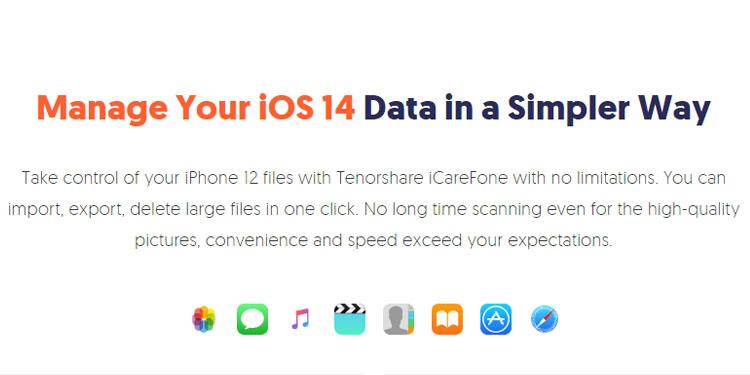 iCareFone iPhone Backup Tool