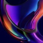 macOS Big Sur Iridescence Dark