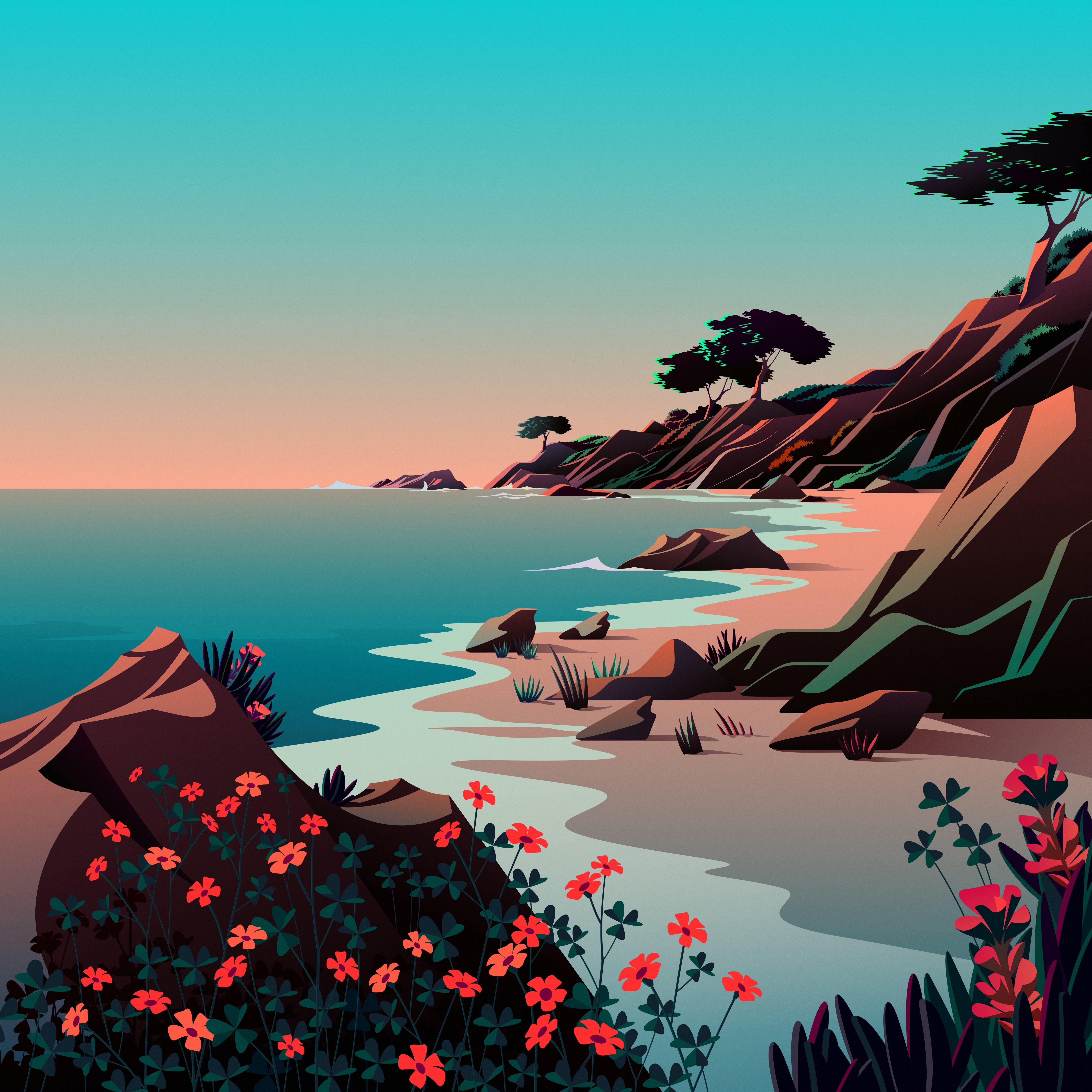 macOS Big Sur The Beach 1 dragged