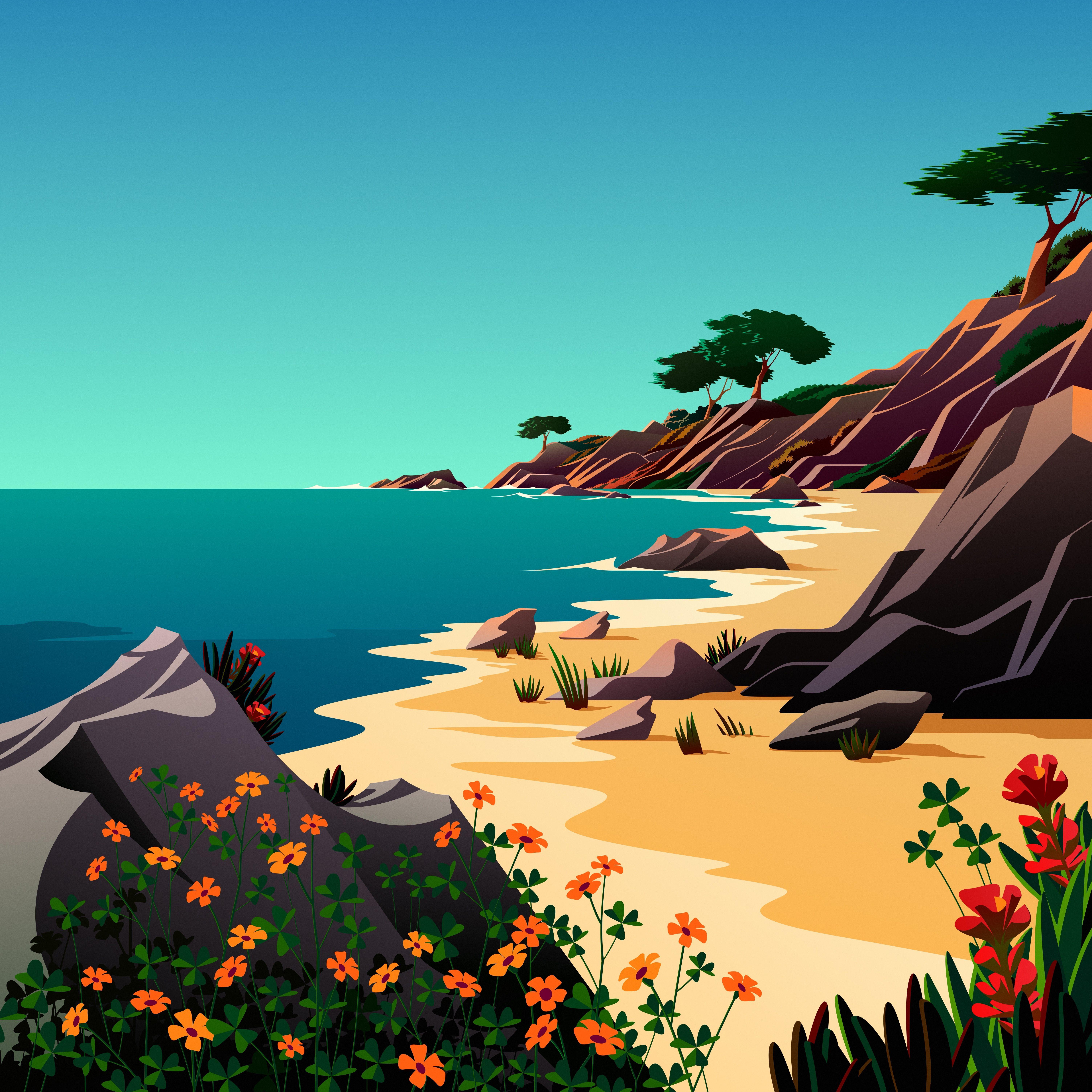 macOS Big Sur The Beach 5 dragged