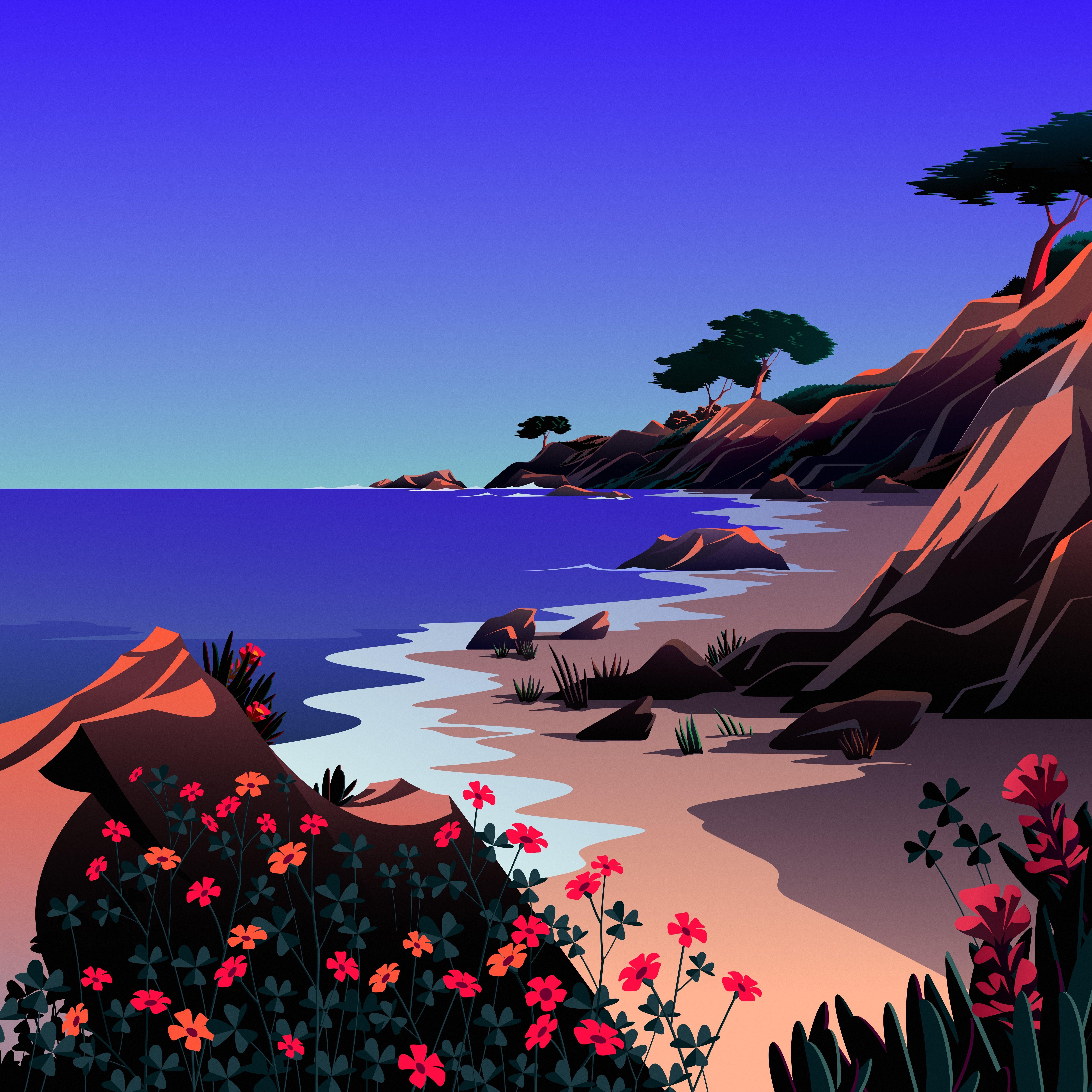 macOS Big Sur The Beach 6 dragged