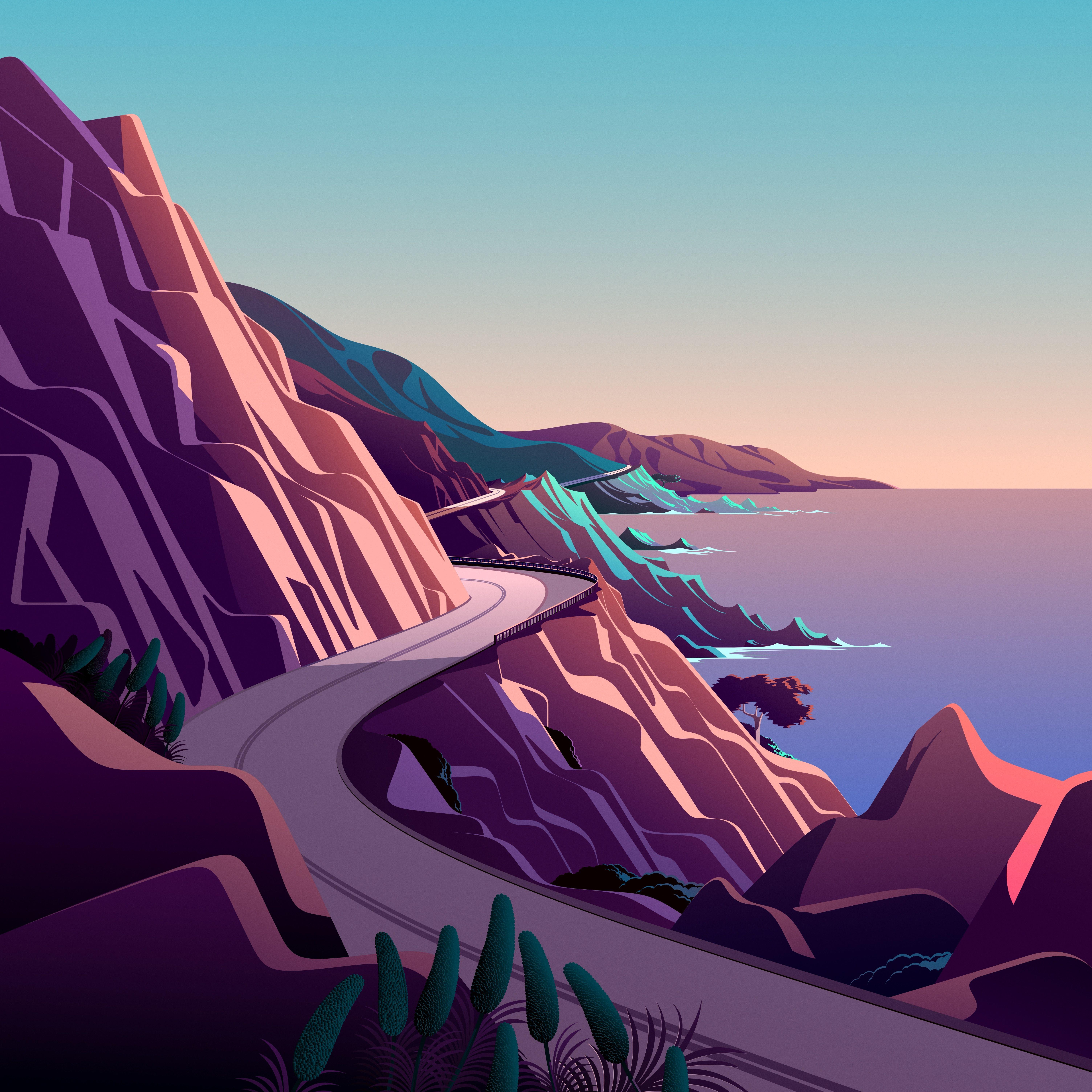 macOS Big Sur The Cliffs 1 dragged