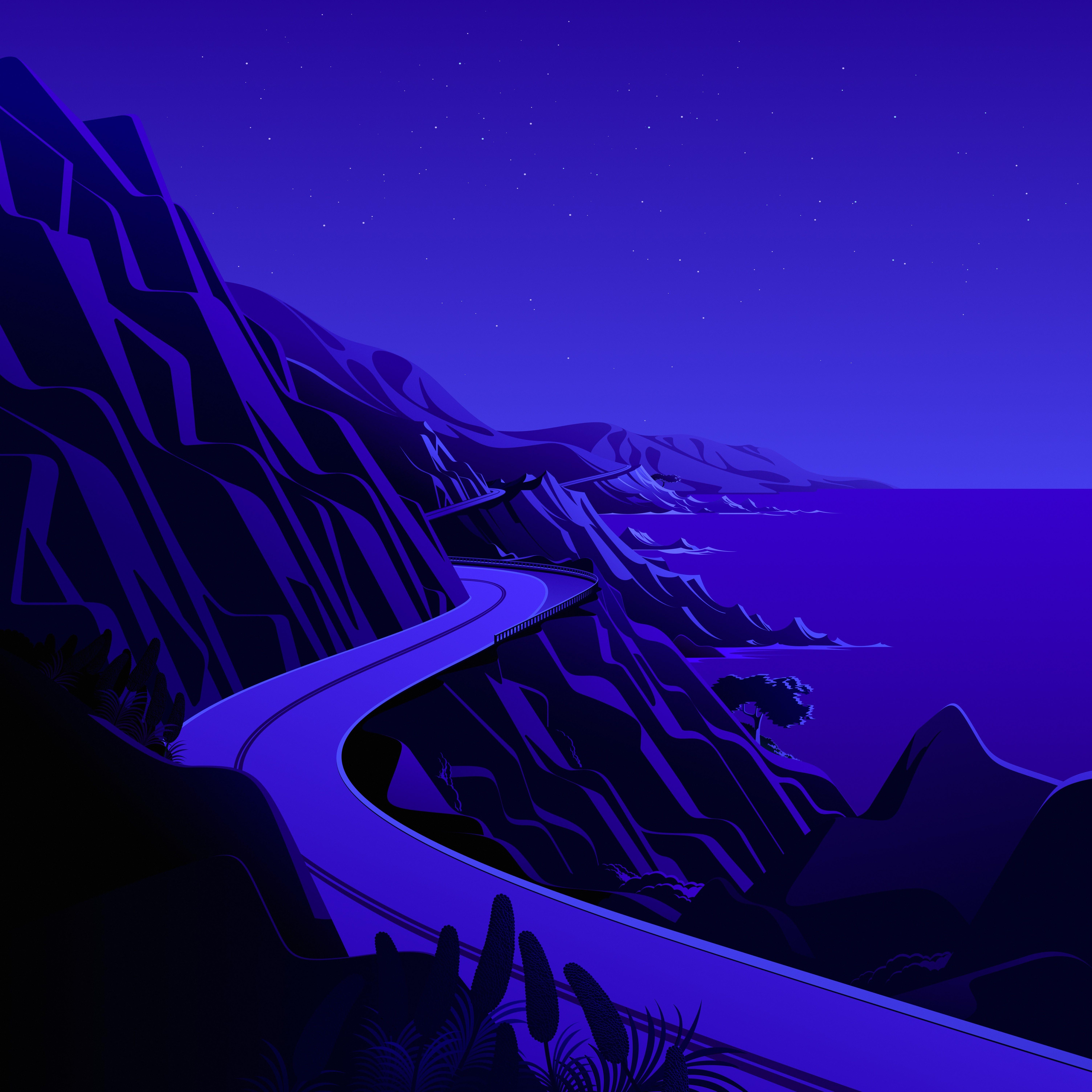macOS Big Sur The Cliffs 2 dragged