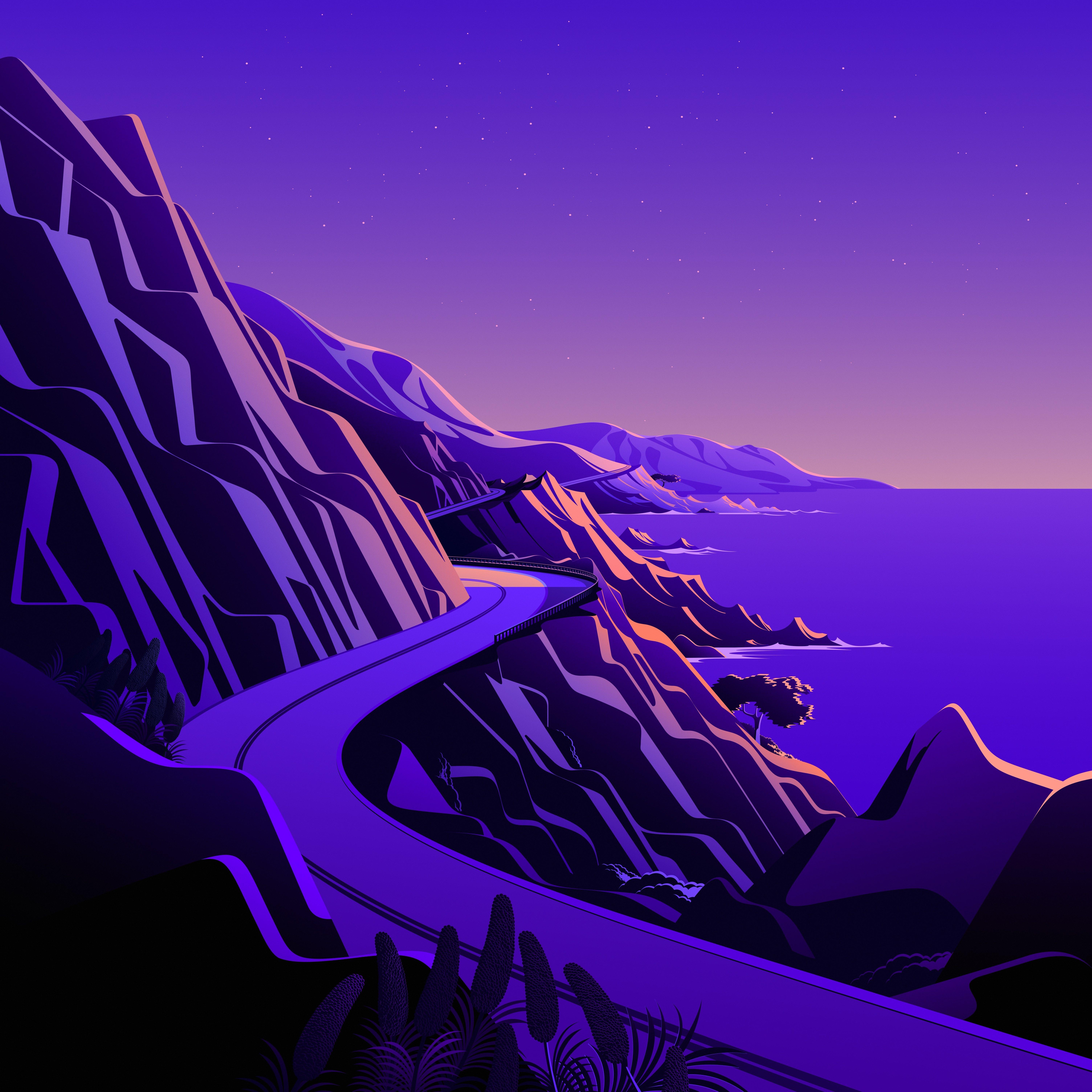 macOS Big Sur The Cliffs 3 dragged