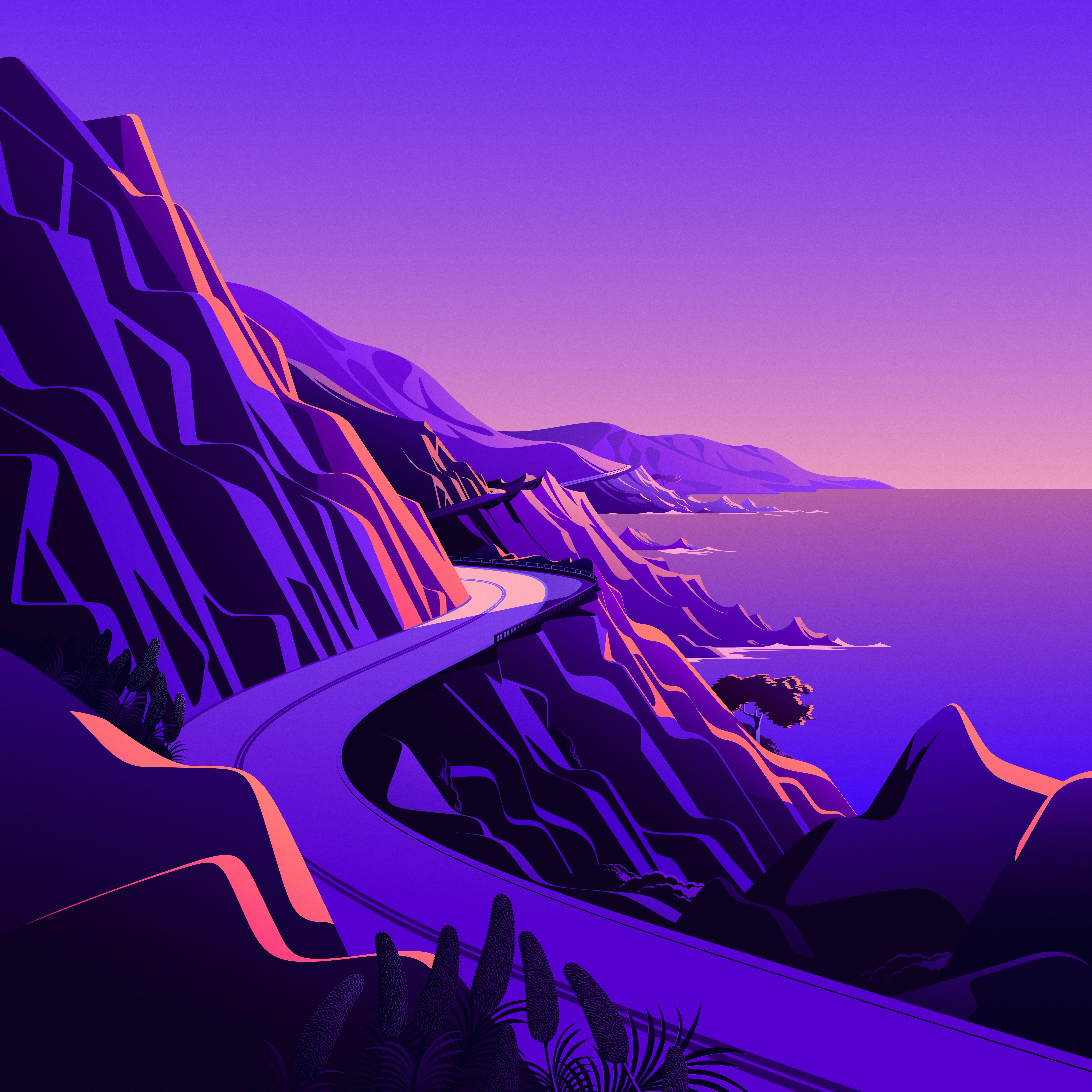 macOS Big Sur The Cliffs 4 dragged