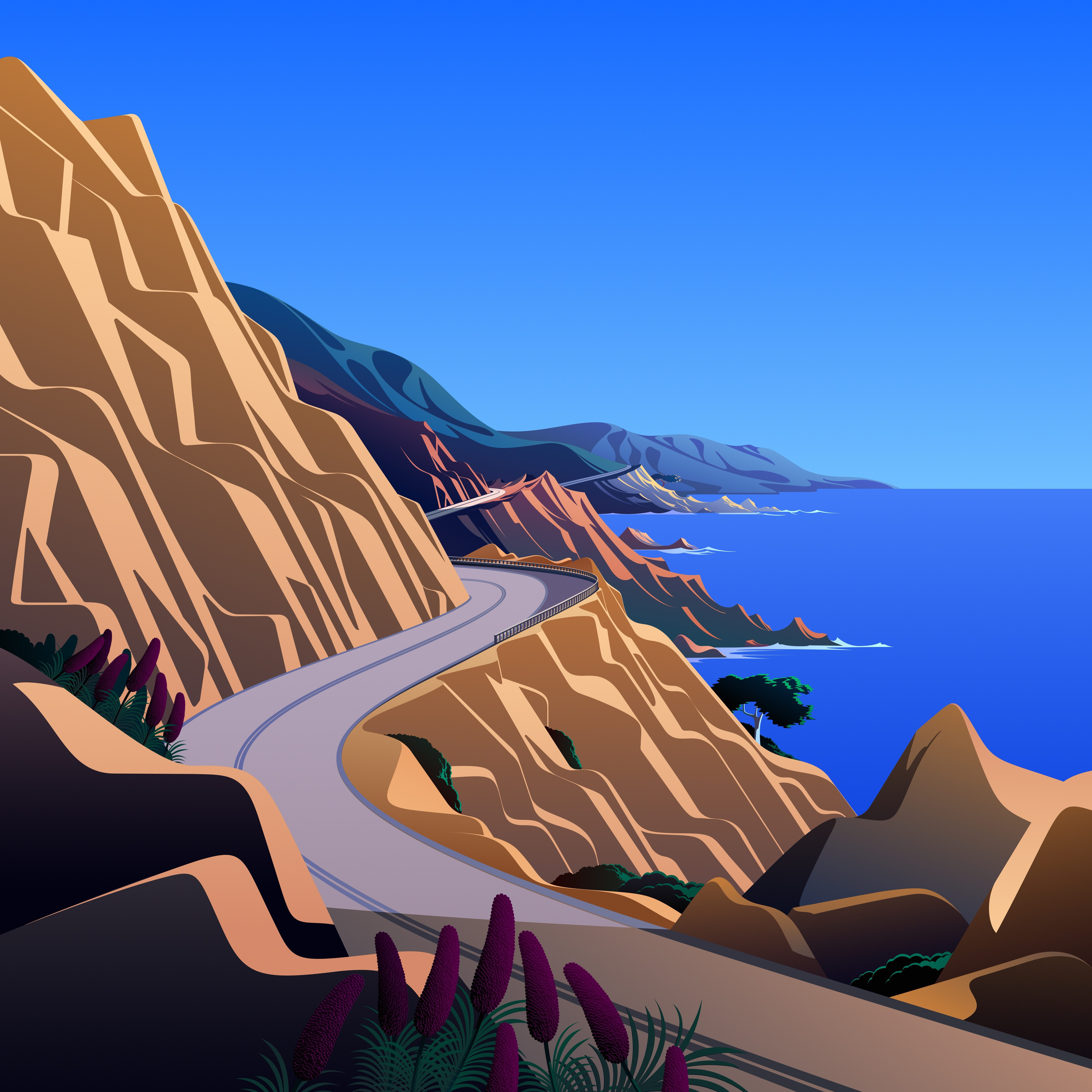macOS Big Sur The Cliffs 5 dragged