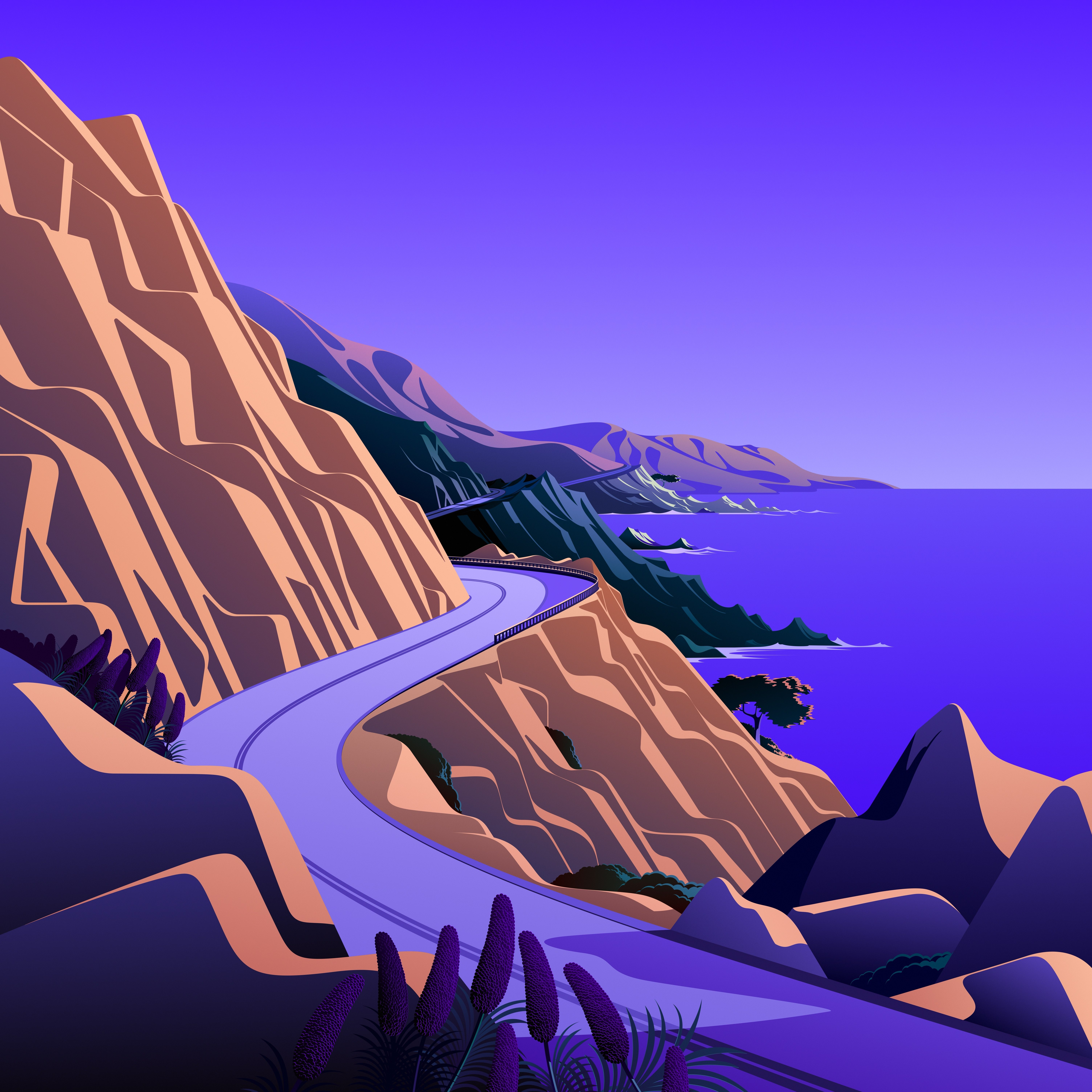 macOS Big Sur The Cliffs 6 dragged