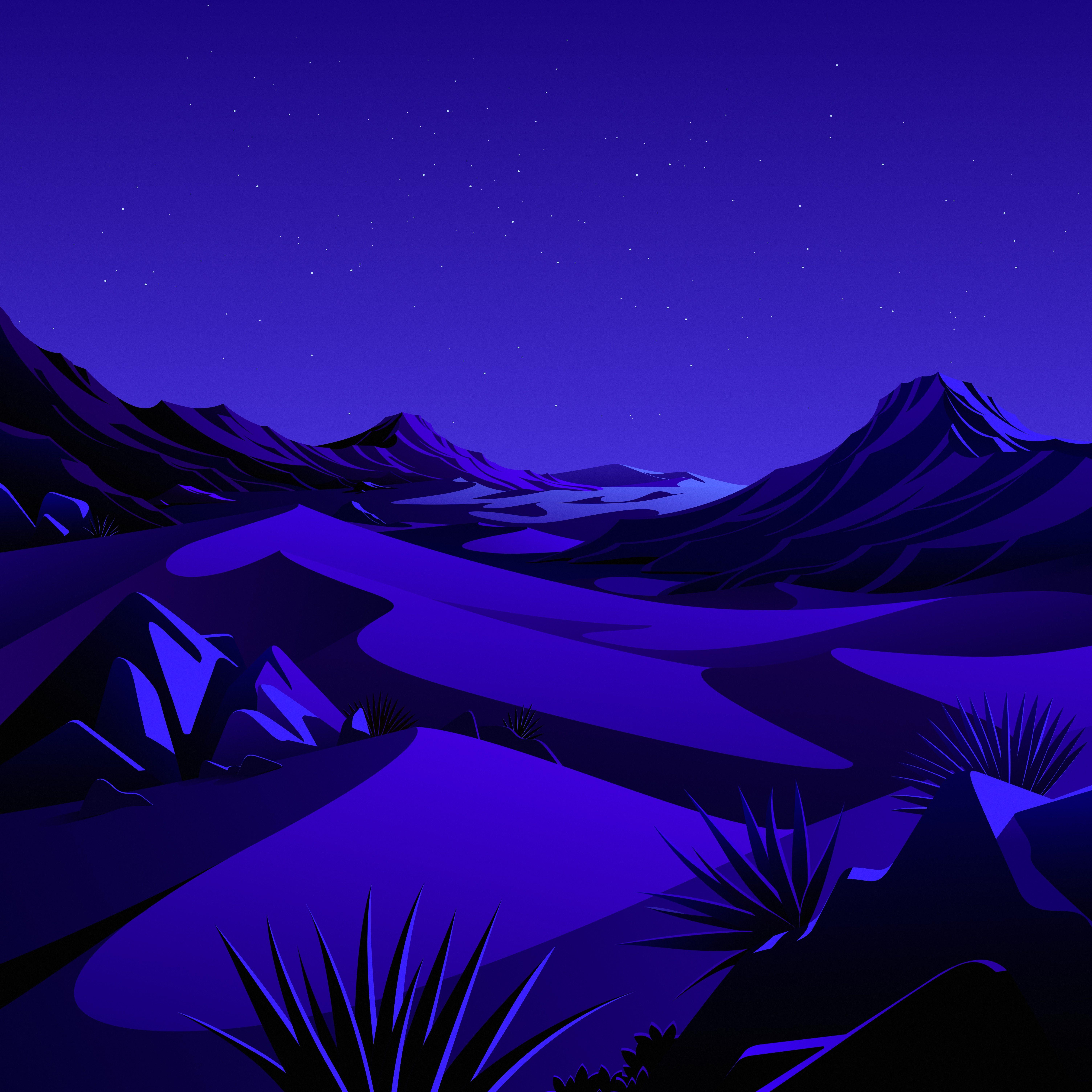 macOS Big Sur The Desert 2 dragged