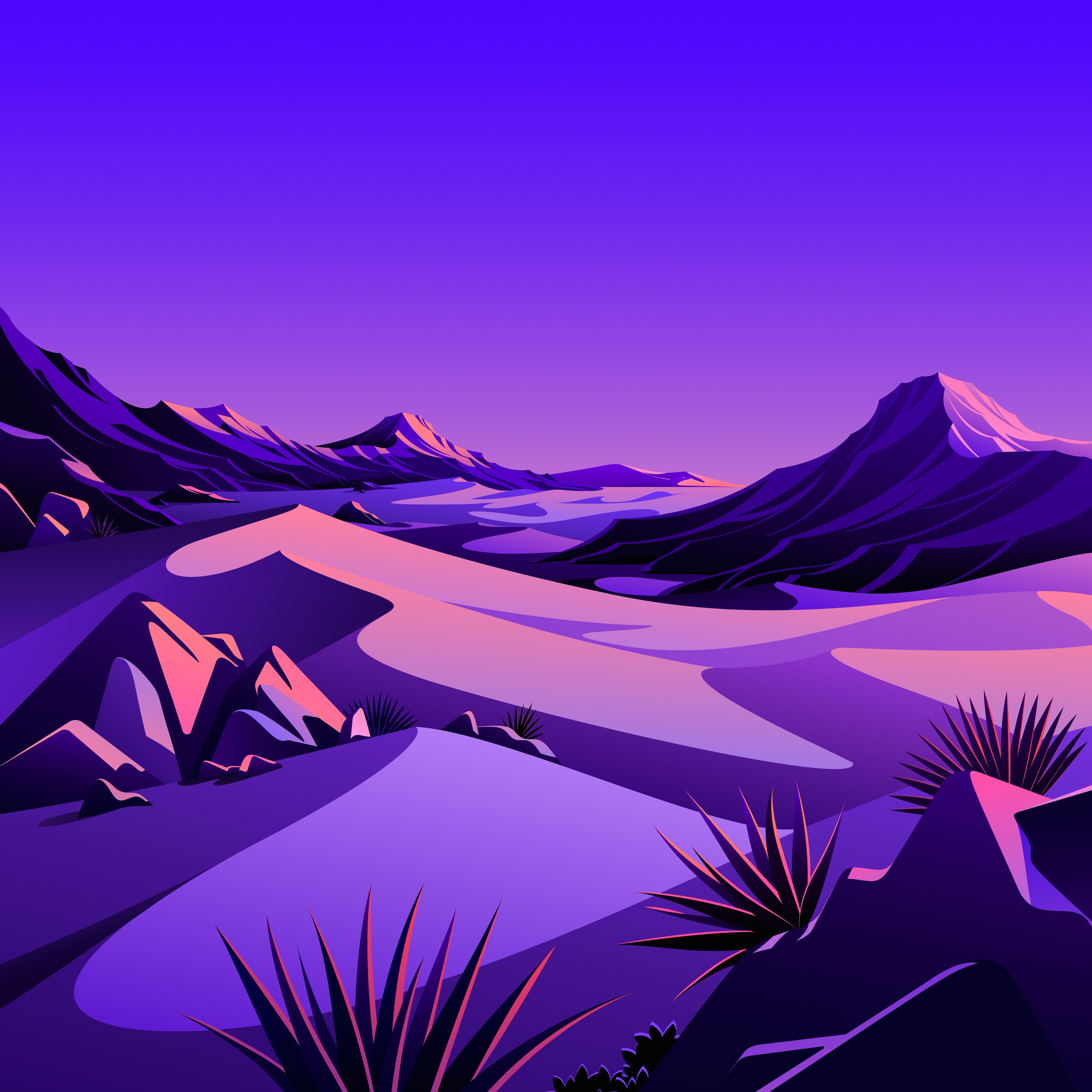 macOS Big Sur The Desert 4 dragged