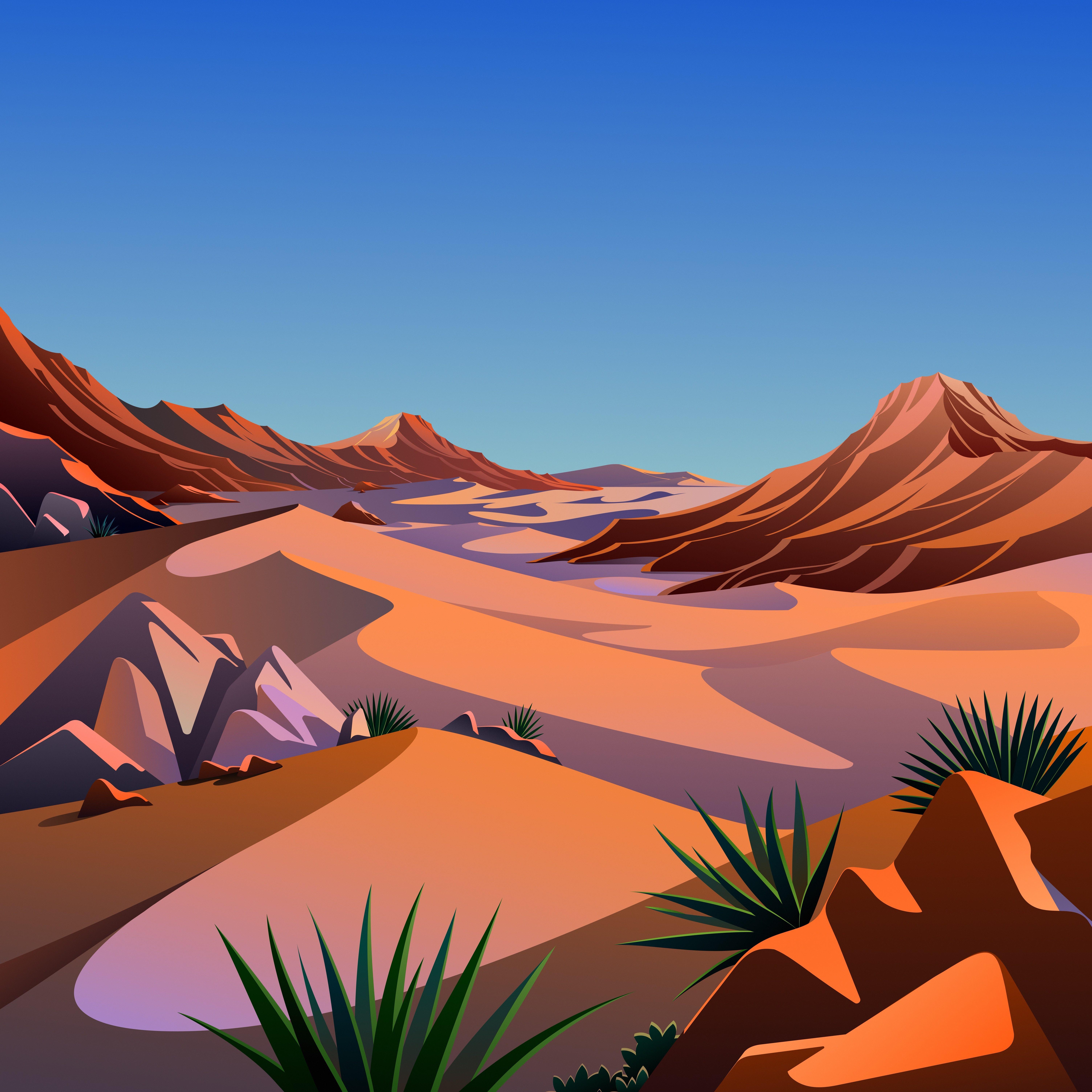 macOS Big Sur The Desert 5 dragged