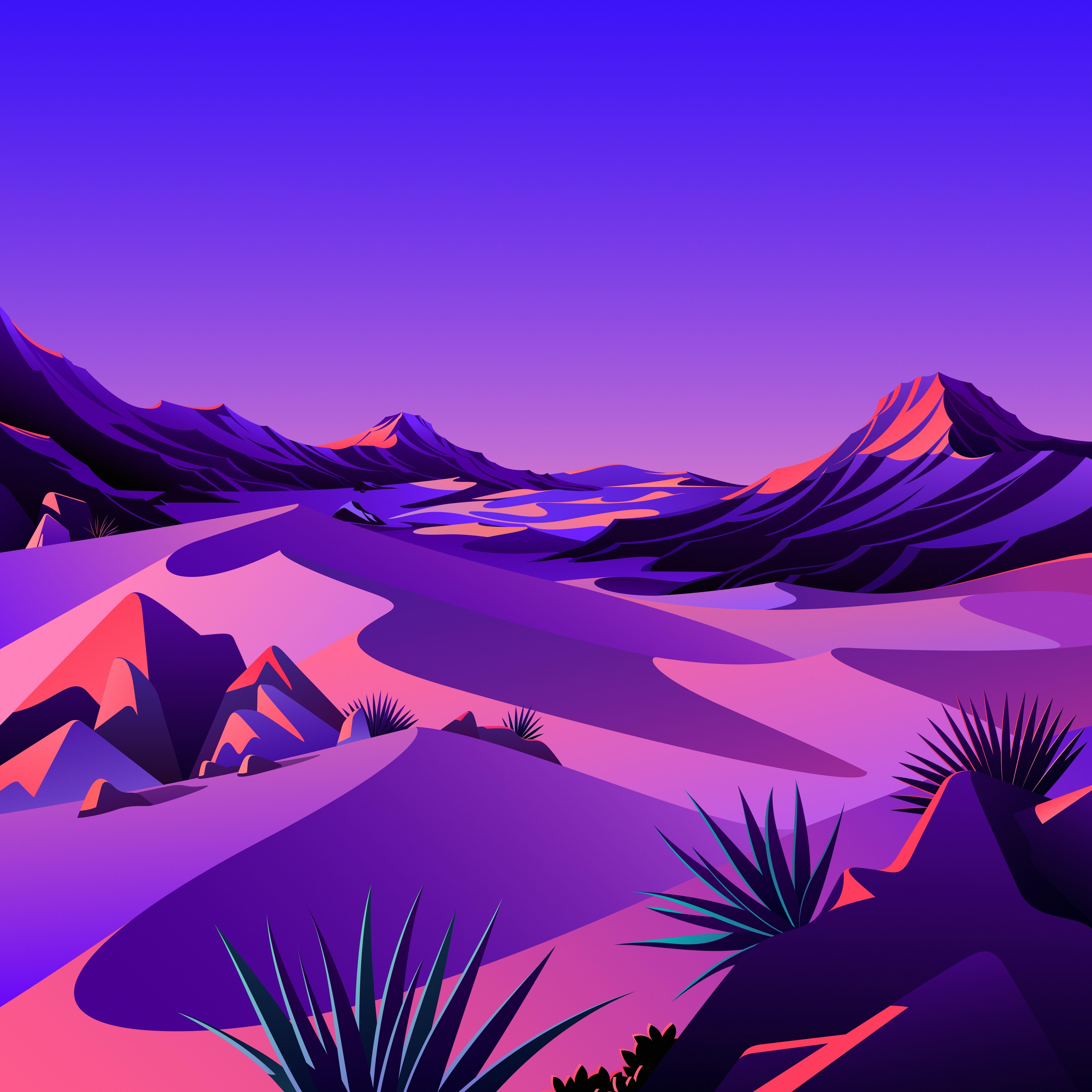 macOS Big Sur The Desert 7 dragged