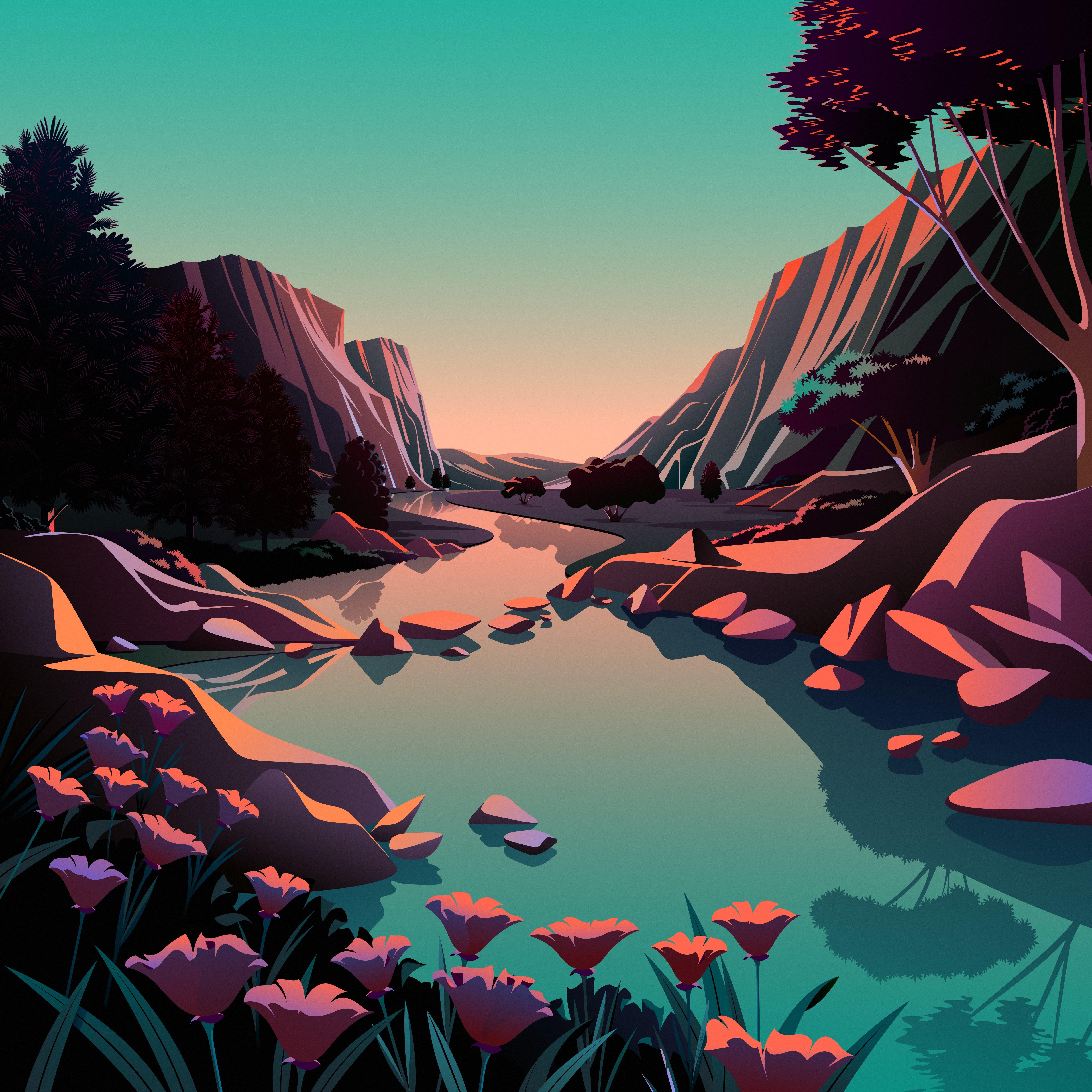 macOS Big Sur The Lake 1 dragged