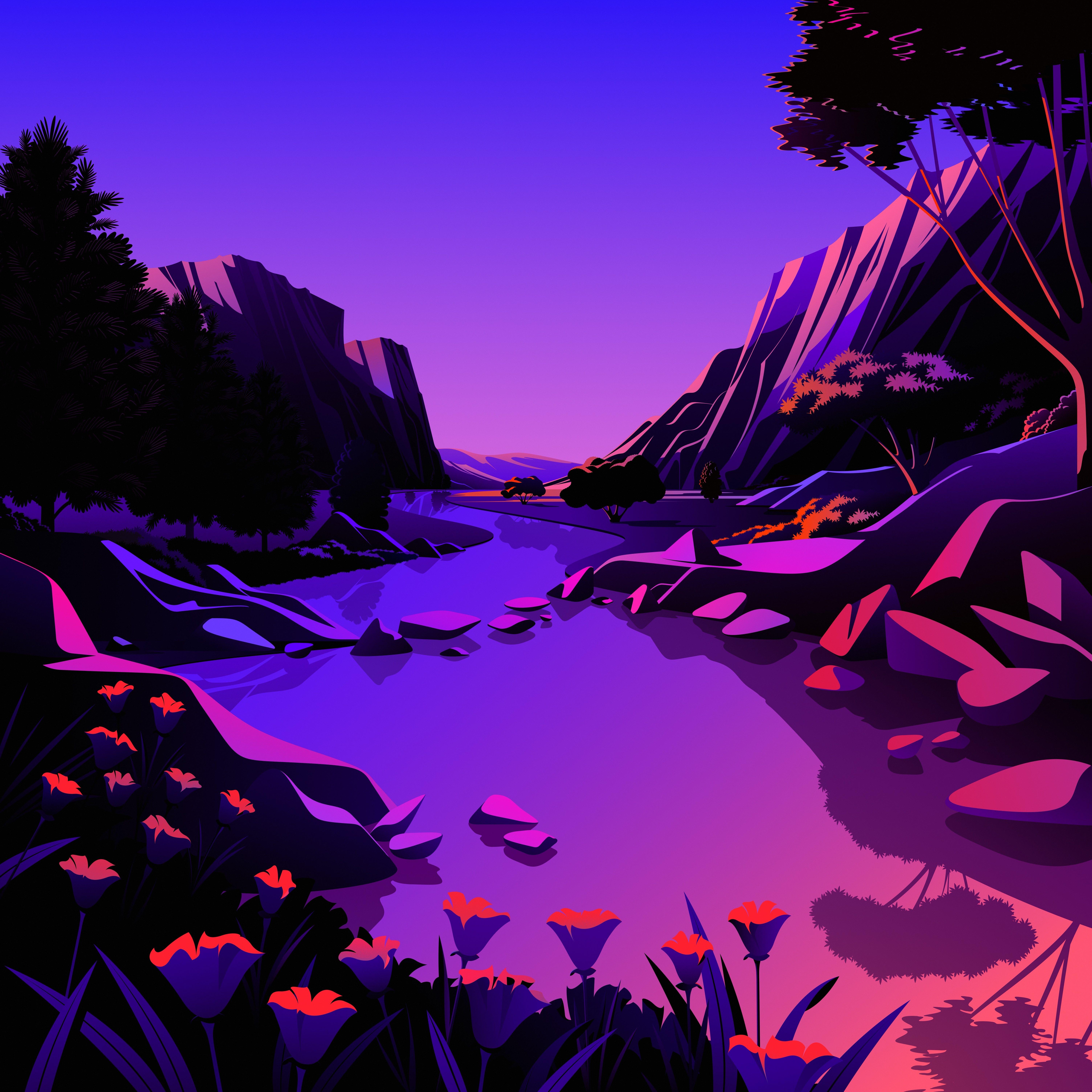 macOS Big Sur The Lake 7 dragged