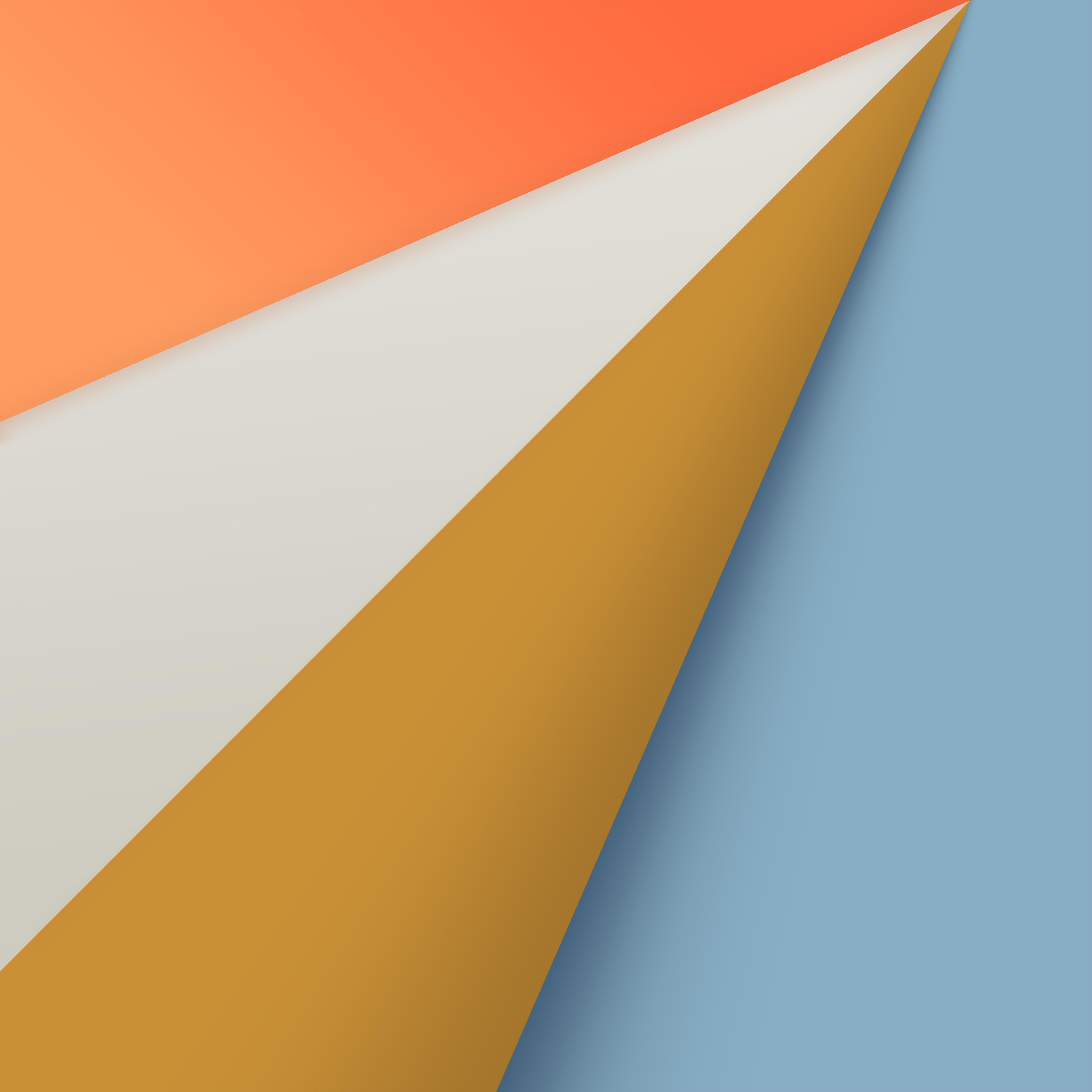 macOS Big Sur Wallpaper Orange
