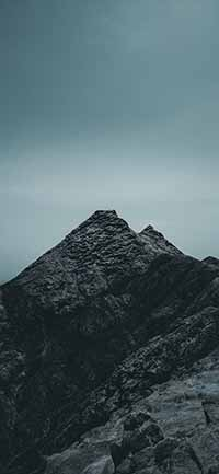 Best Mountain iPhone 12 Pro Max Wallpapers black rocks 200x433