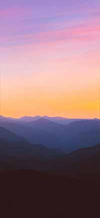 Best Mountain iPhone 12 Pro Max Wallpapers sun set 200x433