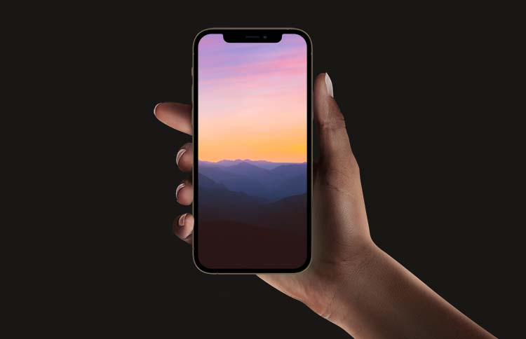 Mountain iPhone 12 Pro Max Wallpapers