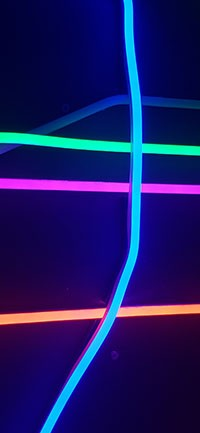 Colorful Lights Mysterious iPhone Wallpaper 200x433