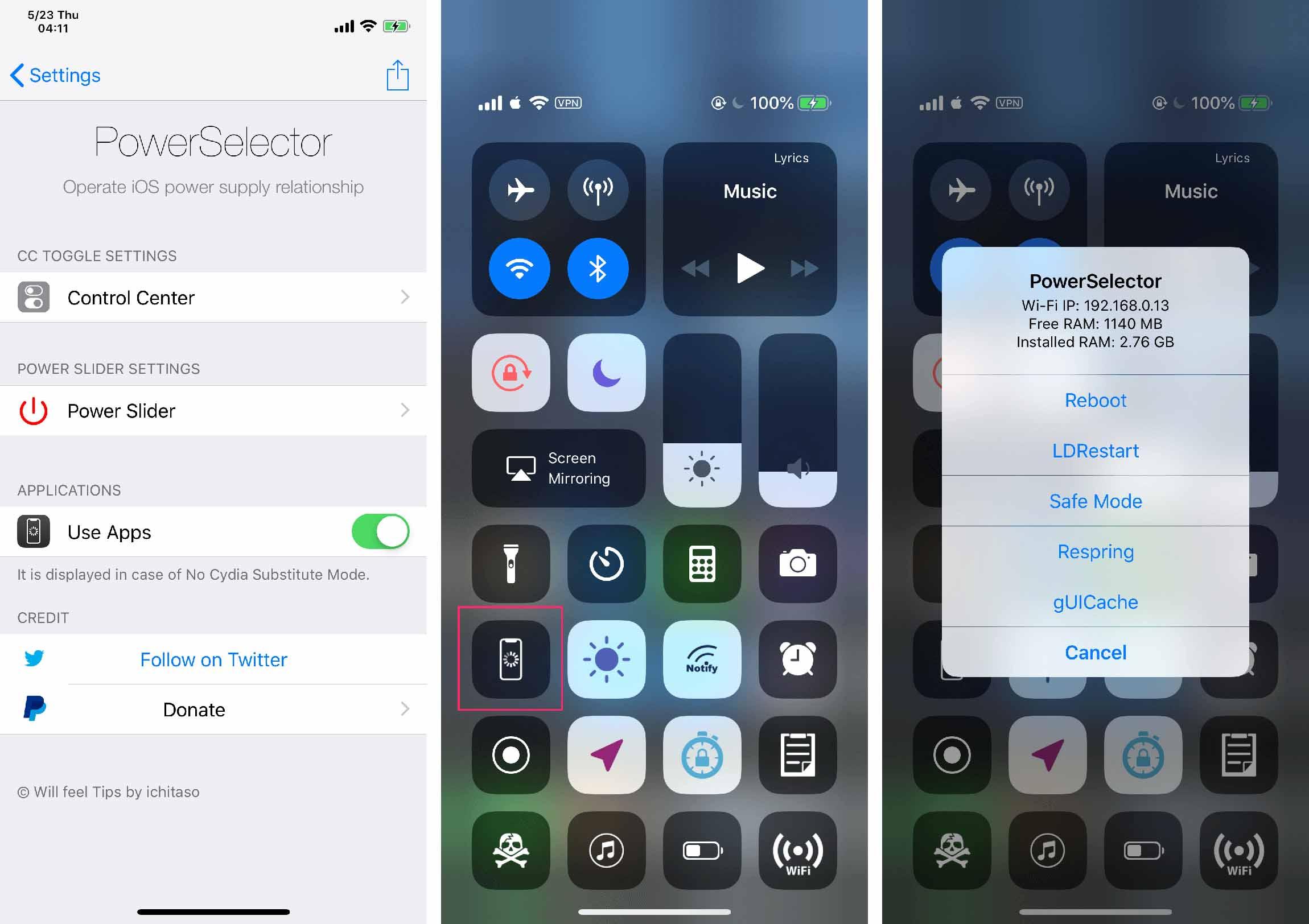 How to LDRestart jailbroken iPhone - PowerSelector