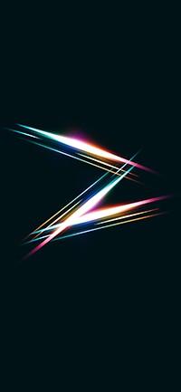 Rainbow light iphone Wallpaper 200x433