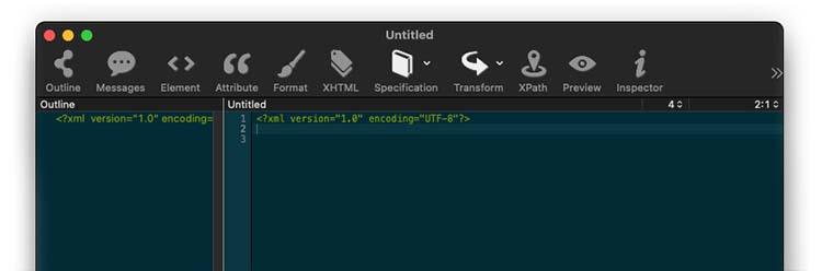 Xmplify XML editor for mac