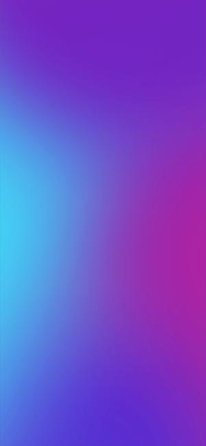 macOS gradient wallpaper by idisqus blue to purple 300x649