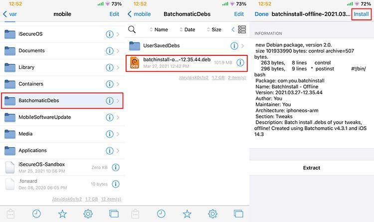 Batchomatic tweak install backup file