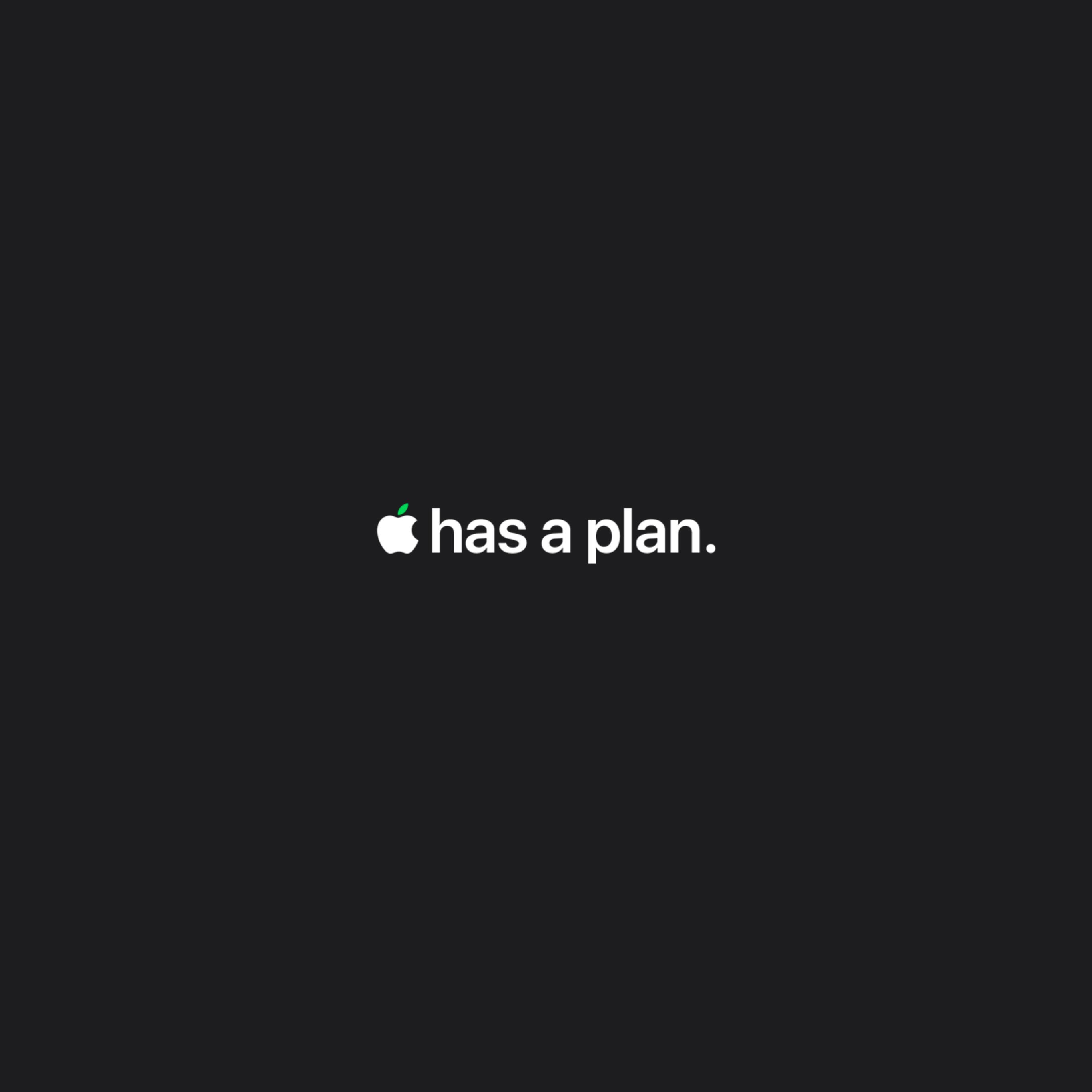 Apple earth day 2021 iPad Pro Wallpaper - Apple has a plan