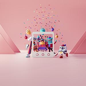 Chromebook Imaginary Wallpapers - Birthday-Memento 300x300