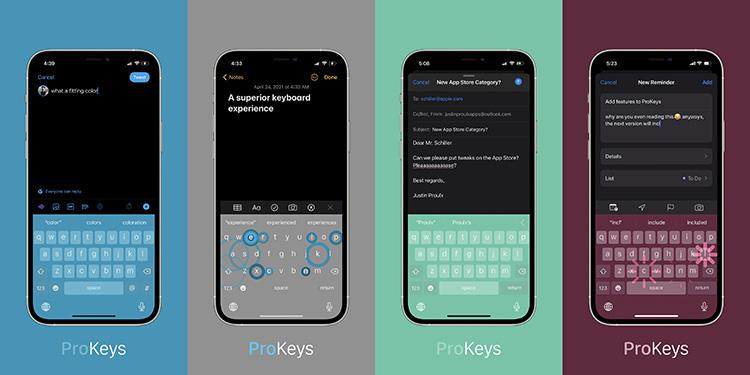 ProKeys Tweak Features