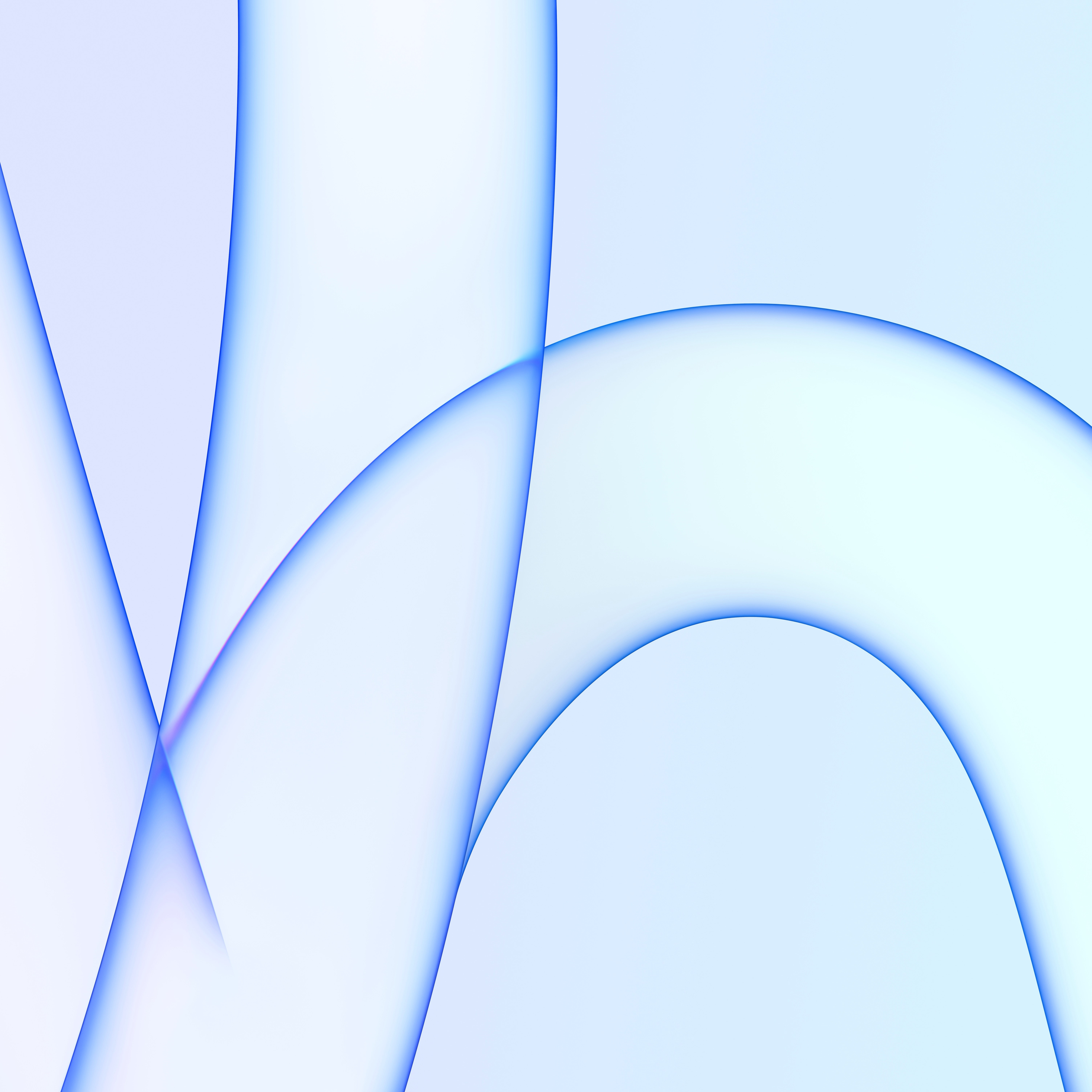 iMac 2021 Wallpaper light blue
