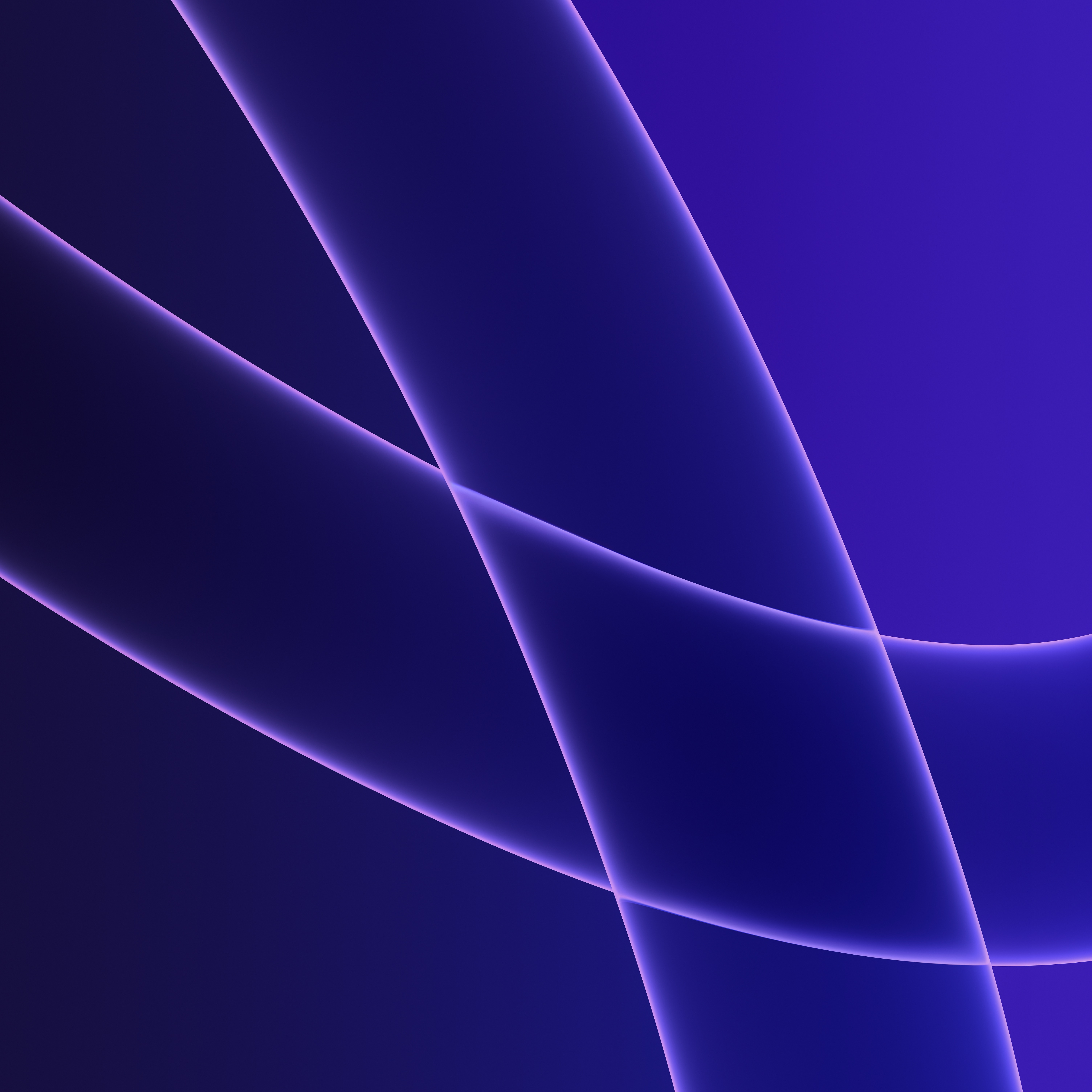 iMac 2021 Wallpaper dark purple