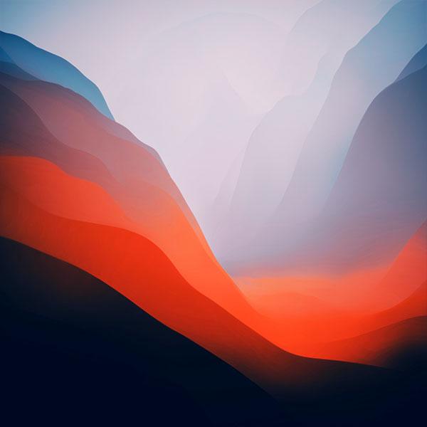 macOS Monterey wallpaper 600x600