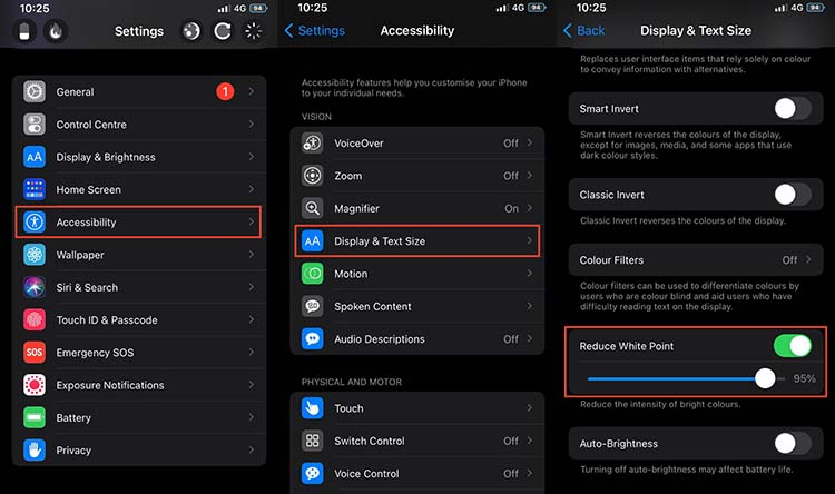 How to enable DARKER Mode on iPhone