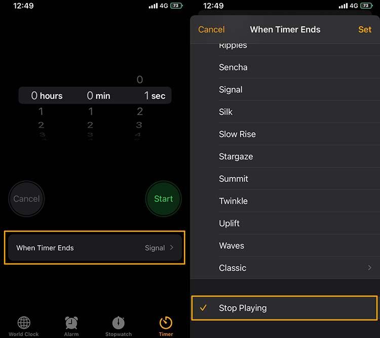 Setup the Clock App