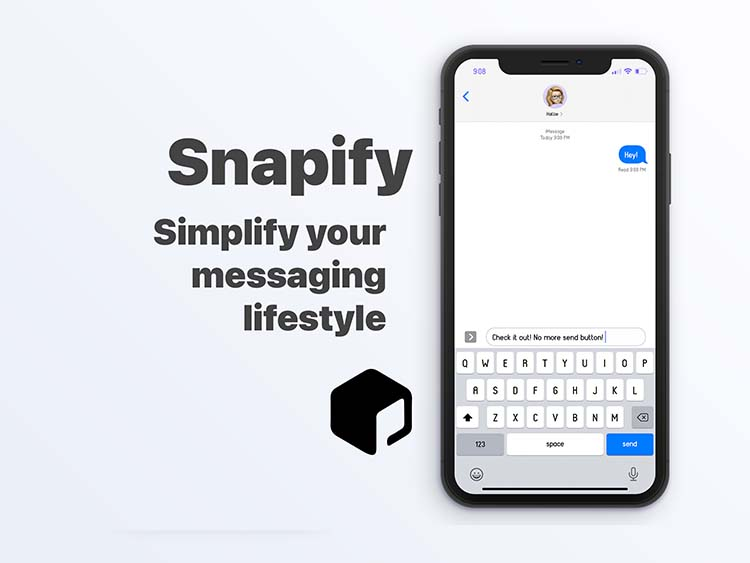 Snapify for iOS 14 - Messages App