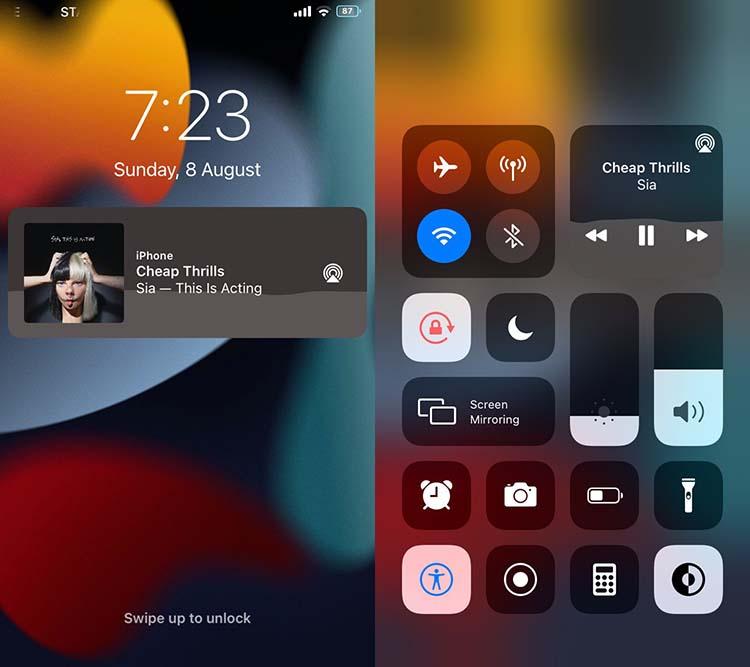 Vide Tweak για iOS 14 Media Player